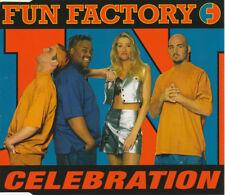 FUN FACTORY - Celebration 5TR CDM 1995 EURODANCE