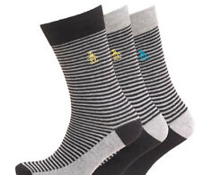 Original Penguin Mens Striped Socks 3 Pack Size 7 -11