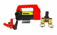 12V DC Portable Diesel Oil Fluid Extractor Electric Transfer Fuel Pump 175W 45L