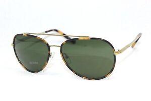 New MICHAEL KORS IDA MK1019-116371 Tokyo Tortoise Gold Tone/ Green Sunglasses