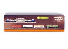 """MARKLIN MINI-CLUB 8691 Z GAUGE DB """" Berlin """" regional Freight Cars set Era IV"""