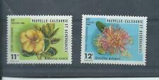 Nouvelle-Calédonie timbres. 1980 fleurs paire MH (Z019)