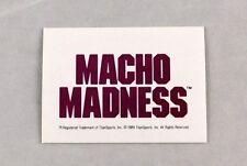Macho Man Randy Savage WWF Wrestling Trading Card Classic #137 WWE Wrestler