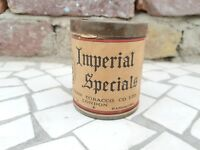 1940s Vintage Arcadian Tobacco Co. Imperial Special Virginia Cigarette Round Tin