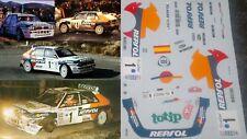 Decal 1.43 Lancia Delta Integrale Jolly Club Sainz/Moya Rallye Monte Carlo 93