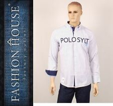 POLO Sylt Camisa Casual, talla S NUEVO st32013 (C). 7501st