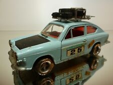 NACORAL 1:25 - FIAT 850 COUPE SPORT  - EXTREMELY RARE - GOOD CONDITION
