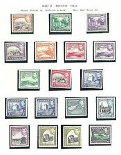 CYPRUS Collection on leaves mint & used including 1938 - 2177
