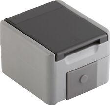 Einzelsteckdose Feuchtraum Steckdose IP44 Aufputz Aufputzsteckdose Grau