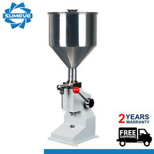 Manual Filling Machine 5-50ml Liquid Paste Shampoo lube Oil Bottler Filler (A03)