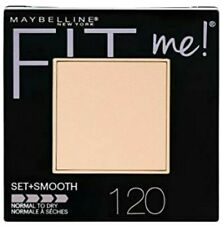 Maybelline Fit Me Powder Classic Ivory 120 Set & Smooth Powder Normal to Dry 9g