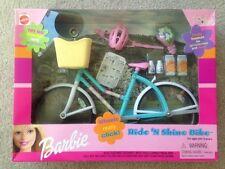Mattel 2000 Barbie Ride N Shine Bike with headlight and basket  New In Box