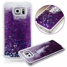 For Samsung Galaxy Note 5 -HARD SKIN CASE Flowing Waterfall Liquid Sparkle Stars
