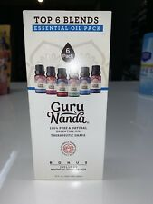 GURU NANDA Essential Oil Pack 100% PURE & NATURAL Therapeutic Grade FREE STORAGE