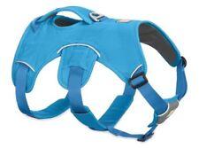 Imbragature imbottiti blu in nylon per cani