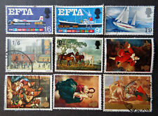 GREAT BRITAIN 1967 used sets: aircraft, boats, paintings. We combine shipping