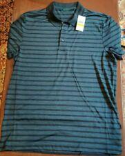 perry ellis dark sapphire men's polo shirt size M/M