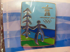 LOT of 20 PINS - Vancouver 2010 Olympics - Cut Out Tree Pin