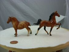 Lot of 2 Generation 1 Breyer Stablemates for CM projects, POOR DRAFT!!!! and ASB