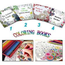 Coloring Book Secret Garden English  Graffiti Children Paperback Drawing Adult