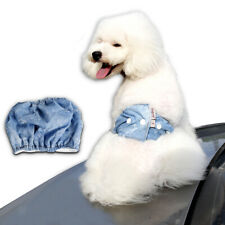 Cowboy Pants Diaper Sanitary Underwear Belly Band for Male Pet Dog Size S-L