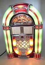 1940's Replica Classics Jukebox Cd Player Am Fm Radio Tested n Working Very Nice