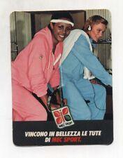 Adesivo Tute MEC SPORT Pubblicità advertising PROMO sticker ANNI 70/80
