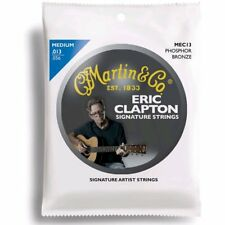 Martin MEC13 Eric Clapton's Choice Acoustic Guitar Strings Phosphor Bronze Med
