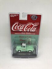 M2 MACHINE COCA-COLA Limited Edition 1956 Ford F-100 Truck Green/White 2019 NEW