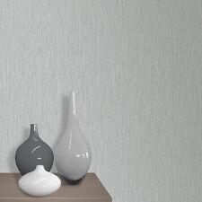 Muriva Kai Liso Con Purpurina & Textura Gris Oscuro De Lujo Papel Pintado 138104