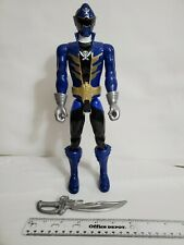 "Power Rangers Super Megaforce~Armored Super Mega Blue Ranger 12"" Action Figure"