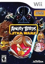 Angry Birds: Star Wars [Nintendo Wii, NTSC, Remastered, Action Platformer] NEW