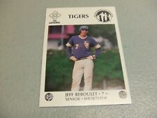 1985-85 LSU Tigers Baseball Jeff Reboulet McDag Chemical Dependency Baton Rouge