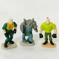 3 Kenner 1998 Small Soldiers Micro Figures Chip Hazard Nick Nitro +