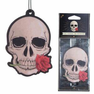 Rose Gothic Skulls and Roses  SCENTED AIR FRESHENER for Car Novelty freshner
