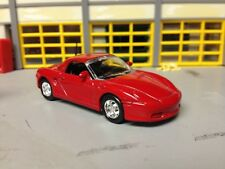 1/64 99 Porsche Boxster  in Red with Black Int with Rubber Tires on Alloy Wheels