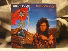 ROBERT PLANT - NOW AND ZEN LP VG+/EX 1988 GERMANY ES PARANZA REC 790 863-1