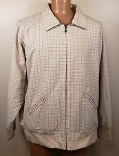 Patagonia Checked Blouson Harrington Jacket Fleece Lined Windbreaker Size XL
