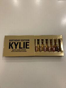 Kylie Cosmetics Mini Matte Lipsticks Birthday Collection Limited Edition