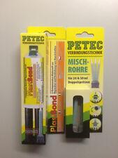 Petec Lazo de Plástico, 24ml, Tarjeta Sb Incl. 4x Statikmischrohr 98325_ 1