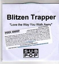 (CI309) Blitzen Trapper, Love The Way You Walk Away - DJ CD