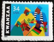 2001 34c Kwanzaa, Celebration of Family Scott 3548 Mint F/VF NH
