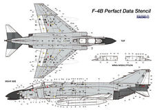 MONOKIO 1/48 F-4B Phantom II US Navy Perfact Data Stencil