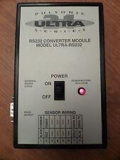 CMC Pulsonic ULTRA-RS232 Converter Module MAM-11299 MAM11299 6-9 VDC Used