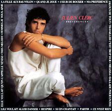 Julien Clerc - Preferences  (CD, Mar-1996, Virgin