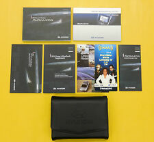 Sonata 11 2011 Hyundai Owners Owner's Manual Navigation Nav Set including Case
