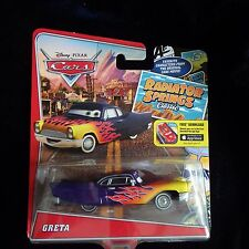 Disney Pixar Cars Radiator Springs Classic Greta  new