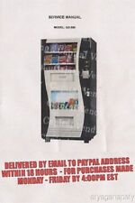 Genesis Vending GO 380 Service Manual (15 pages)  PDF sent by email