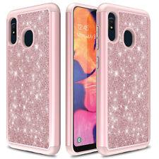 For Samsung Galaxy A10e/A20/A11/A21/A51/A71 5G Case Armor Glitter Bling Cover