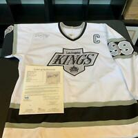 Wayne Gretzky Signed Authentic Los Angeles Kings CCM Game Model Jersey JSA COA